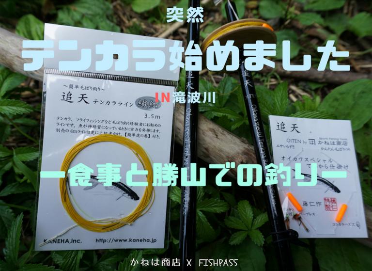 【突然 テンカラ始めました】食事と勝山での釣り