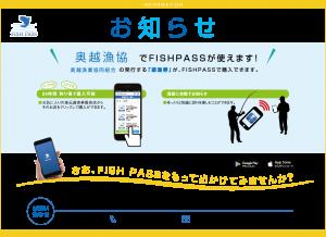 【お知らせ】新加入 奥越漁協(九頭竜川)のFISHPASS遊漁券が購入できます