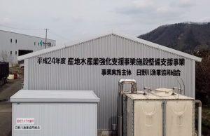 アユ中間育成施設レポート:日野川漁協