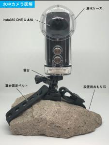 360°水中カメラを活用する!