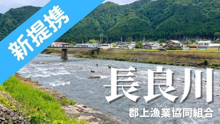 岐阜県)郡上漁協でフィッシュパスが使えます